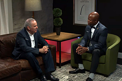 Kasparov interviewed by Maurice Ashley